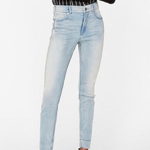 EXPRESS Denim Perfect stretch ankle jeans